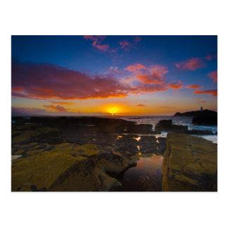 Cornwall Suntset Postcards