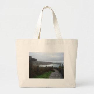 Cornwall view tote bag
