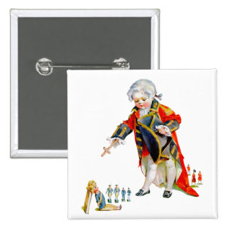 Cornwallis Surrenders Button