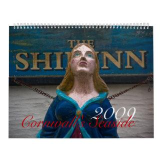 Cornwall's Seaside 2009 Calendar