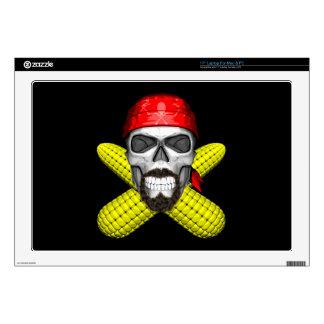 Corny Chef Skull Skin For Laptop