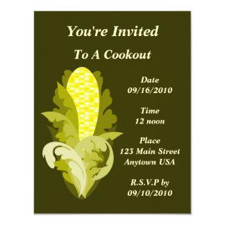 Corny Cookout Invitation