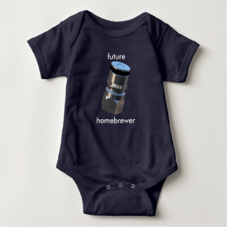 Corny Keg Liquid Post - Future Homebrewer Baby Bodysuit