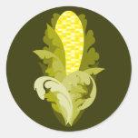 Corny Sticker