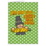 Corny Thanksgiving Card