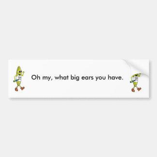 Corny Veggie Hikers Bumper Sticker