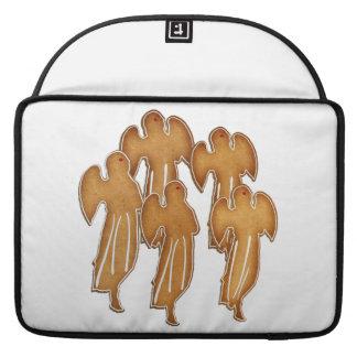 Coro de la galleta del ángel fundas para macbooks