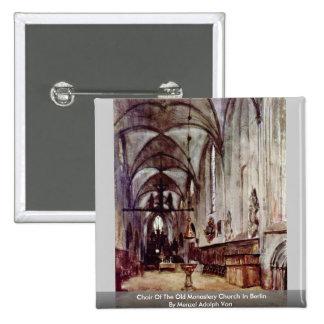 Coro de la iglesia vieja del monasterio en Berlín Pins