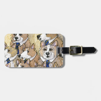 Coro del aullido del perro del Corgi Galés Etiquetas Bolsa