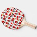 Coro del navidad del bebé pala de ping pong
