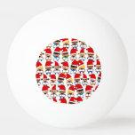 Coro del navidad del bebé pelota de ping pong