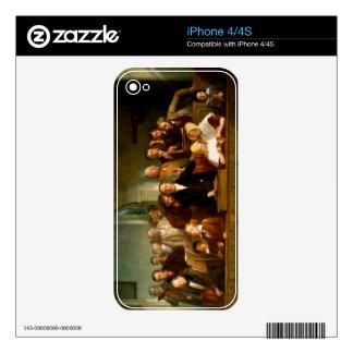 Coro del pueblo (véase también 12274) calcomanía para iPhone 4S
