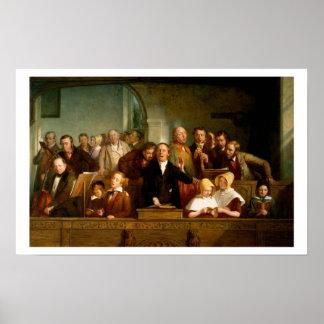 Coro del pueblo (véase también 12274) póster