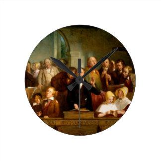 Coro del pueblo (véase también 12274) reloj redondo mediano