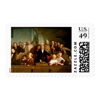 Coro del pueblo (véase también 12274) sello