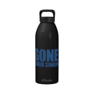 CORO IDO QUE CANTA, estribillo Meme - azul de la i Botellas De Agua Reutilizables
