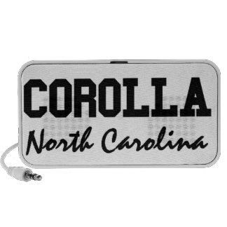 Corolla Carolina del Norte Mini Altavoz