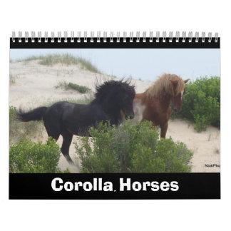 Corolla Horses Calendar