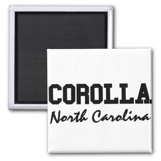 Corolla North Carolina Fridge Magnets