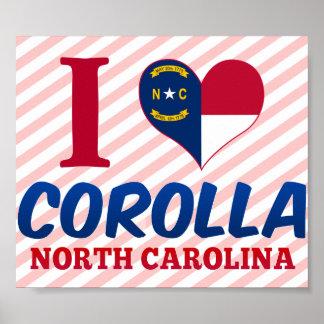 Corolla North Carolina Posters