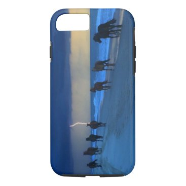 Beach Themed Corolla Wild Horses Lightning IPhone 7 Case