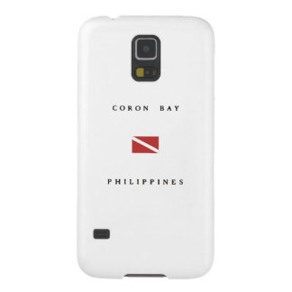 Coron Bay Philippines Scuba Dive Flag Cases For Galaxy S5