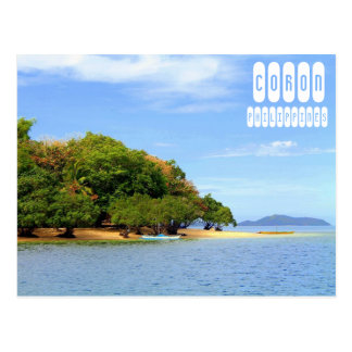 Coron Beach Postcard