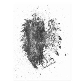 Corona-Ateo-Pájaro Postal