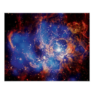 Corona Australis Coronet Star Cluster Space Photo Poster