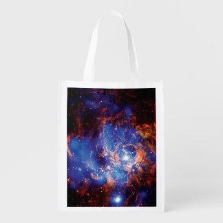 Corona Australis Coronet Star Cluster Space Photo Reusable Grocery Bag