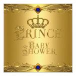 Corona azul real 6 del pequeño muchacho del anuncio personalizado