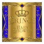 Corona azul real 9 del pequeño muchacho del anuncios personalizados