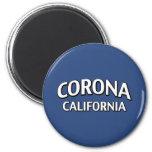 Corona California Imán Para Frigorifico