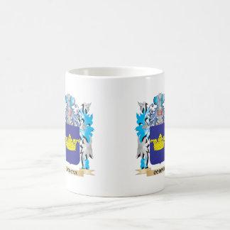 Corona Coat of Arms - Family Crest Classic White Coffee Mug