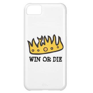Corona conseguida (de rey bruto del búho de funda para iPhone 5C
