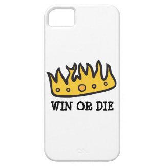 Corona conseguida (de rey bruto del búho de iPhone 5 carcasa