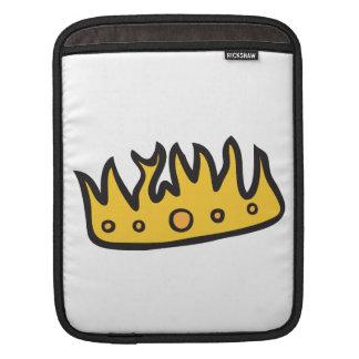Corona conseguida (de rey bruto del búho de manga de iPad