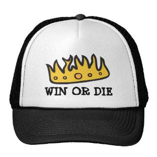 Corona conseguida de rey bruto del búho de pitido gorras