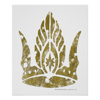 Corona de Gondor Poster