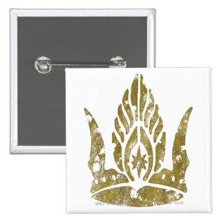 Corona de Gondor Pin Cuadrado