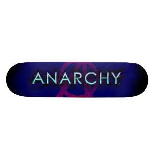 Corona de la anarquía - azul patín personalizado