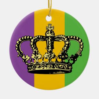 Corona de la bandera del carnaval ornato