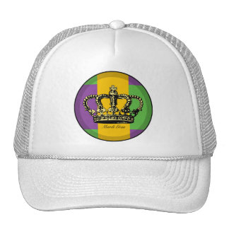 Corona de la bandera del carnaval gorros bordados