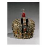 Corona de la emperatriz tarjeta postal