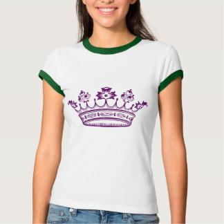 Corona de la púrpura real playera