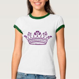 Corona de la púrpura real playeras