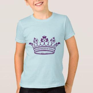Corona de la púrpura real poleras
