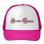 Corona de la reina de la escena gorros bordados