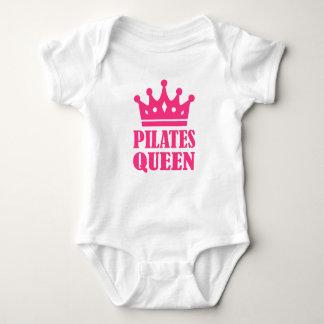 Corona de la reina de Pilates Playeras