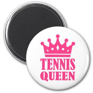 Corona de la reina del tenis iman
